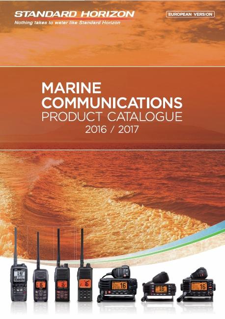 Katalog radiotelefonów morskich Standard Horizon 2015