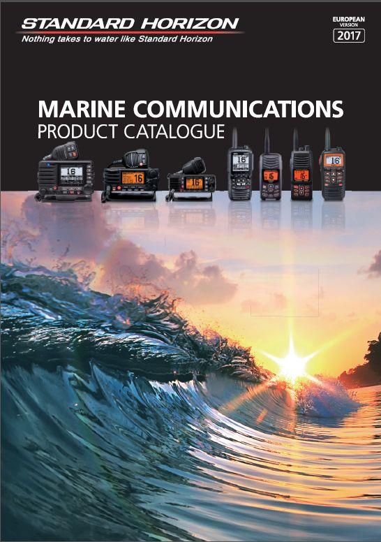 Katalog radiotelefonów morskich Standard Horizon 2017