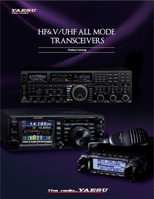 Katalog  transceiverów YAESU
