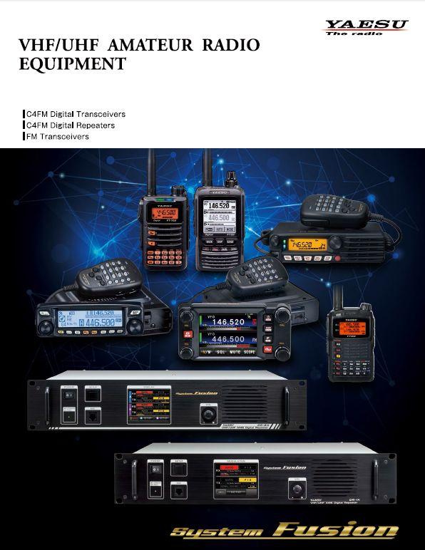 Katalog radiotelefonów YAESU