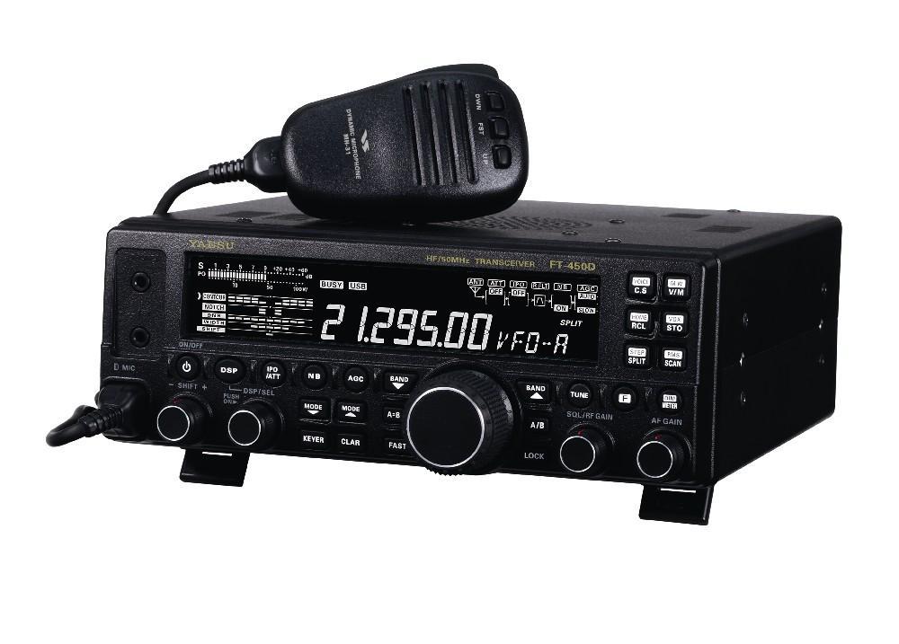 YAESU FT-450D + uchwyt MHG-1 w komplecie