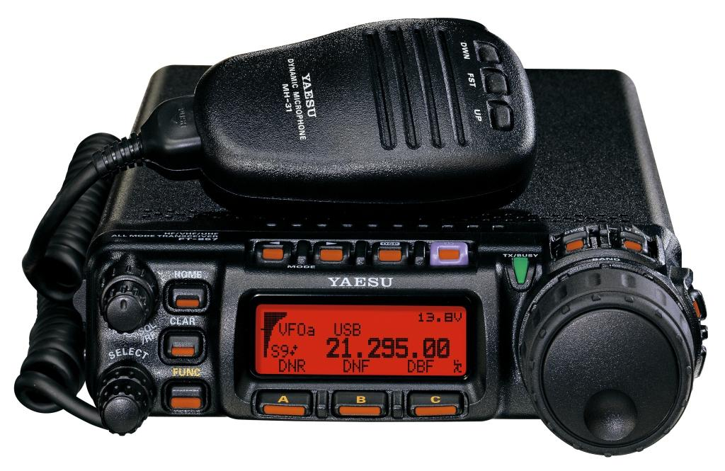 YAESU FT-857D z panelem YSK-857