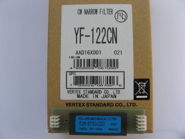 Filtr YAESU YF-122CN