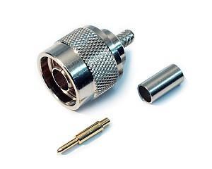 Wtyk N na cienki kabel