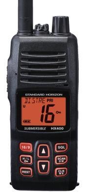 Standard Horizon HX400E programowane kanały prywatne, szyfrator