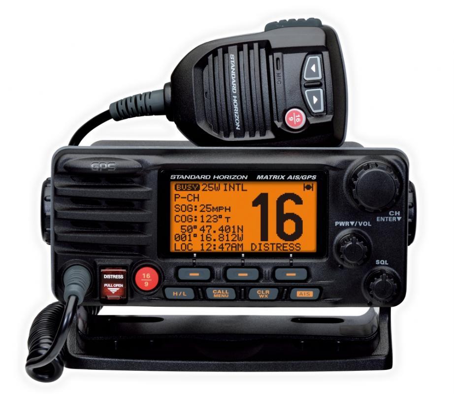 Standard Horizon GX2200E 3 w 1 - radio, GPS i odbiornik AIS