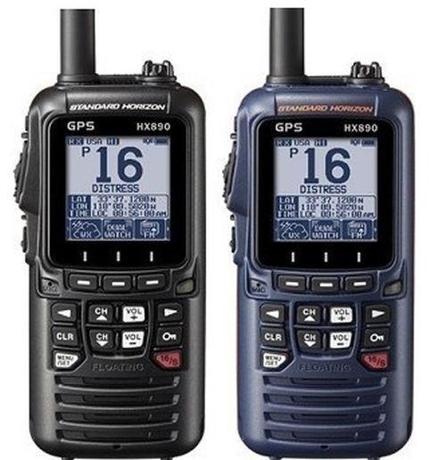 Standard Horizon HX890E z GPS, samodzielna zmiana MMSI