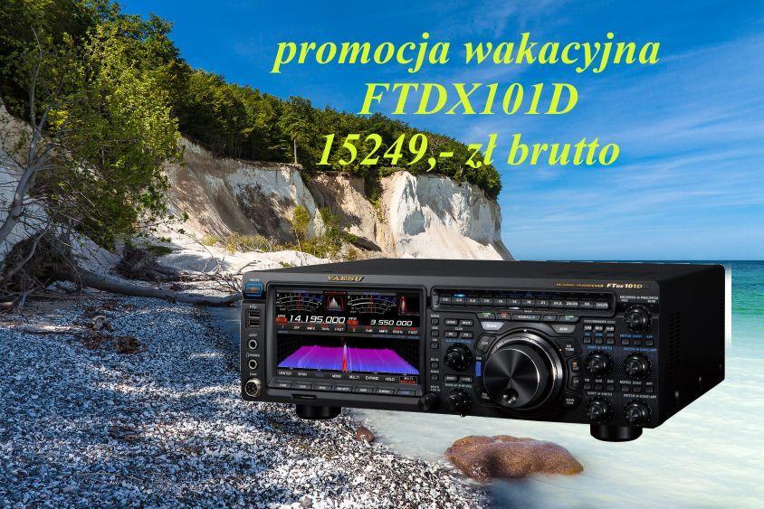 YAESU FTDX101D - WAKACYJNA PROMOCJA + BON NA 100EUR !!!