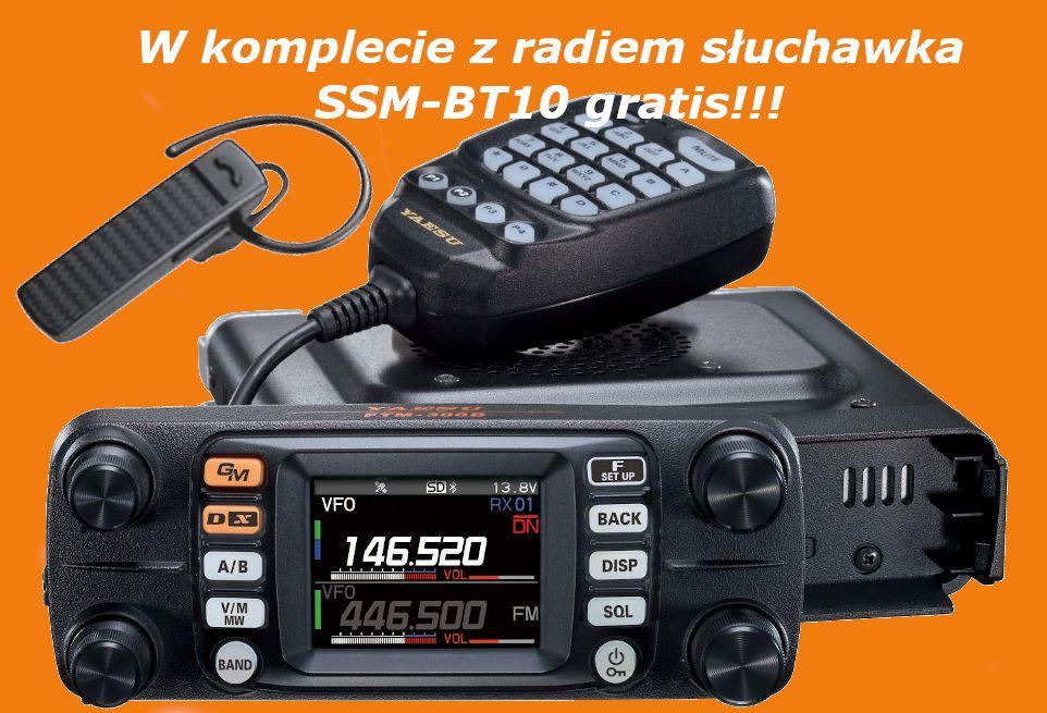 YAESU FTM-300DE + bon 40 EUR + słuchawka Bluetooth SSM-BT10