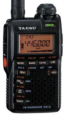 YAESU VX-3