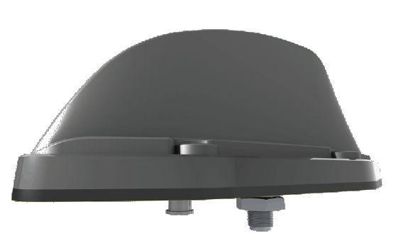 Antena mobilna TRNCG-TET tetrowa 380-430 MHz z GPS