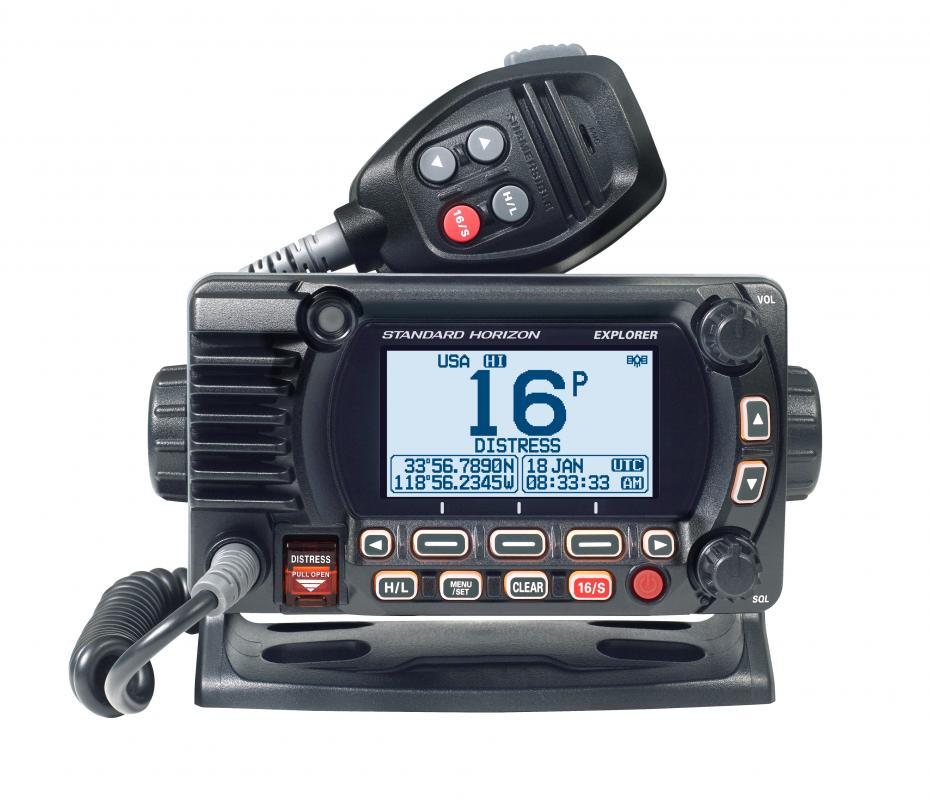 Standard Horizon GX1800E z GPS i NMEA0183