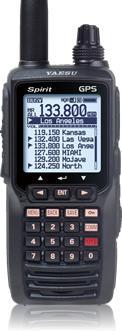 YAESU FTA-750L Spirit z GPS, ILS i VOR