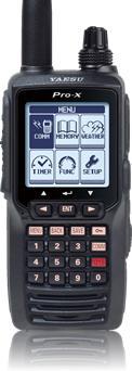 YAESU FTA-550L Pro-X z ILS i VOR