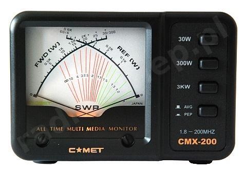 Miernik SWR COMET CMX-200
